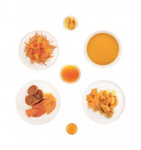 Oranges Menü