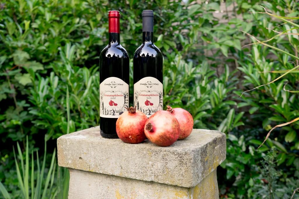 Granatapfelwein, Granatapfel, Wein, Israel, koscher, herb, mild