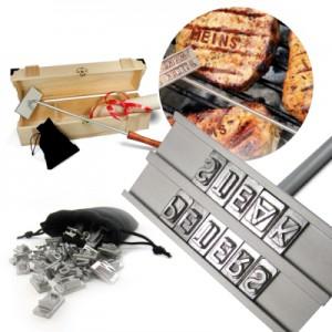 Genuss, Genuss pur, Genießer, Feinschmecker, Grill, Grillen, Grillbrandeisen, Brandeisen, Gadget, Werbung, Slogan