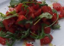 Asiatischer Wassermelonen-Salat