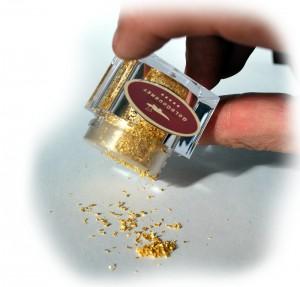 Gourmet, Feinschmecker, Genuss, Genießer, Goldstreuer, Gold, Blattgold, Gadget