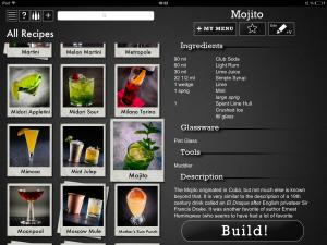 Perfect Drink, Cocktail, Cocktail-App, perfekte Cocktails, Coolstuff, Screenshot