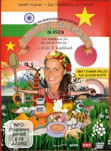 Sarah Wiener, Sarah Wiener in Asien, Kochen, Kochbuch, DVD-Kochbuch, Gourmet, Feinschmecker, asiatisches Essen