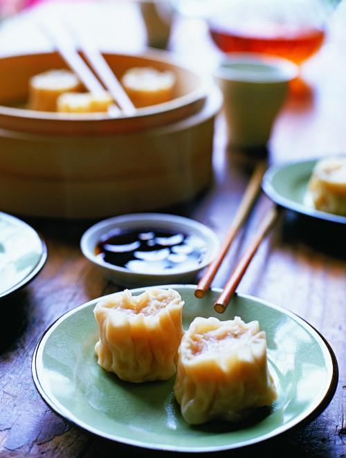 Garnelenklöße gedämpft, chinesische Spezialitäten, Dim-Sum, Gourmet, Genuss, Feinschmecker, Kochbuch, Rezept, National Geographic