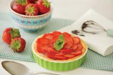 Erdbeer-Tartelettes, Backen mit Schokolade, Rezepte, Backbuch