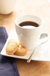 Biscotti alla Lavanda Kaffee-Tasse