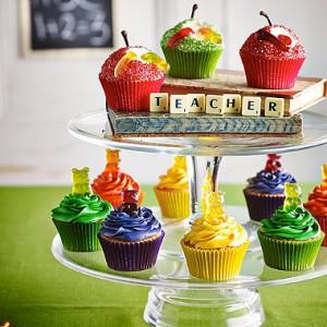 Gummibärchen-Cupcakes