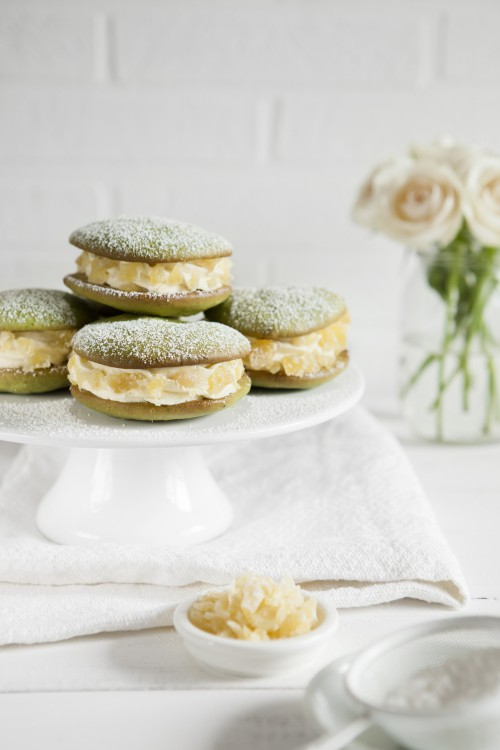 matcha whoopies mit ingwercr me carpegusta. Black Bedroom Furniture Sets. Home Design Ideas