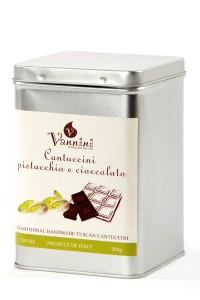Cantuccini Pistacchio e cioccolato