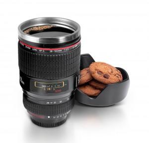 Objektiv-Thermobecher Kekse