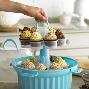 Cupcake-Karussell offen
