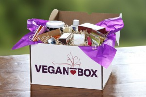 Vegan-Box Kiste