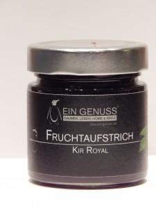 Fruchtaufstrich Kir Royal groß