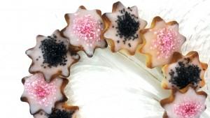 Pink-Schwarze Kekse 4