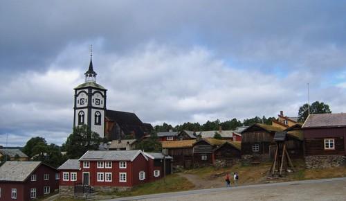 Dorf Norwegen