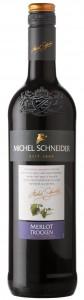 Ein exquisites Weinpaket bestehend aus vier Michel Schneider-Flaschen (trockener Merlot und Grauburgunder sowie zwei alkoholfreie Weiß- und Rotweine). Von: ZGM; Zimmermann-Graeff & Müller.