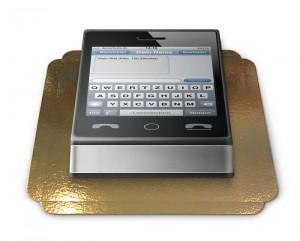 Die SMS-Torte von deinetorte.de
