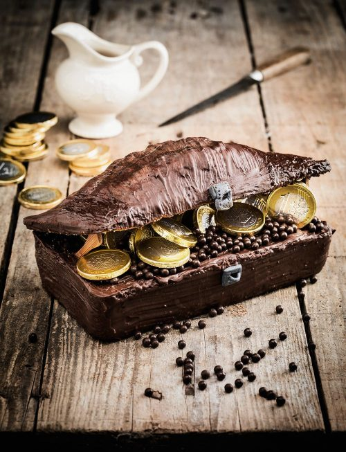 Schatztruhen Torte Carpegusta